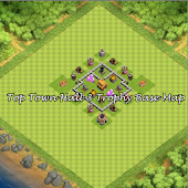 Top Town Hall 3 Trophy BaseMap