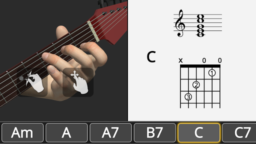 Basic Guitar Chords 3D screenshot 9
