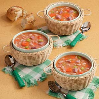 Quick Ham and Bean Soup