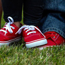 Family of Red Vans by Wendy Brown - Babies & Children Hands & Feet
