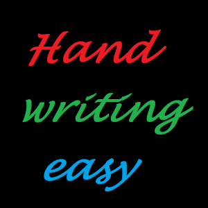 Handwriting easy