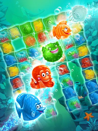 Viber Mermaid Puzzle Match 3 screenshot 16