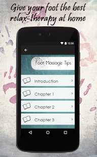 Foot Massage Tips - screenshot