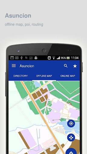 Asuncion Map offline screenshot 5
