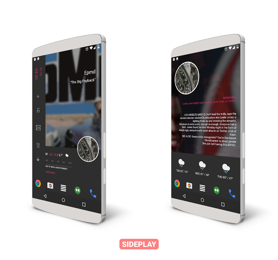 SidePlay for KLWP Screenshot 2