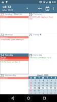 Screenshot of aCalendar - Android Calendar