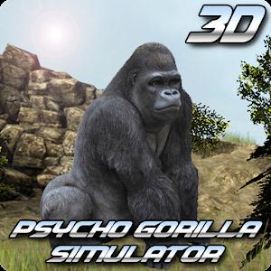 Cover art Psycho Gorilla Simulator
