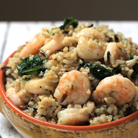Shrimp, Kale, and Wild Rice Melody