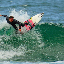 Whip by Kevin Mummau - Sports & Fitness Surfing ( balance, surfing, surfboard, curl, board )