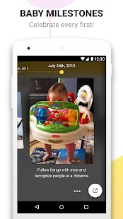 Baby App Glow, Parenting & Development Milestones- screenshot