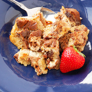 Cinnamon Raisin Paleo Bread Pudding