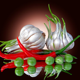 Garlic-chilli by Asif Bora - Food & Drink Ingredients