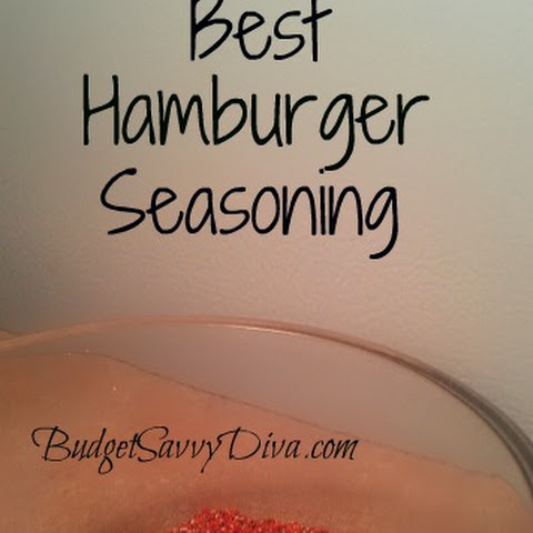 The Best Hamburger Seasoning