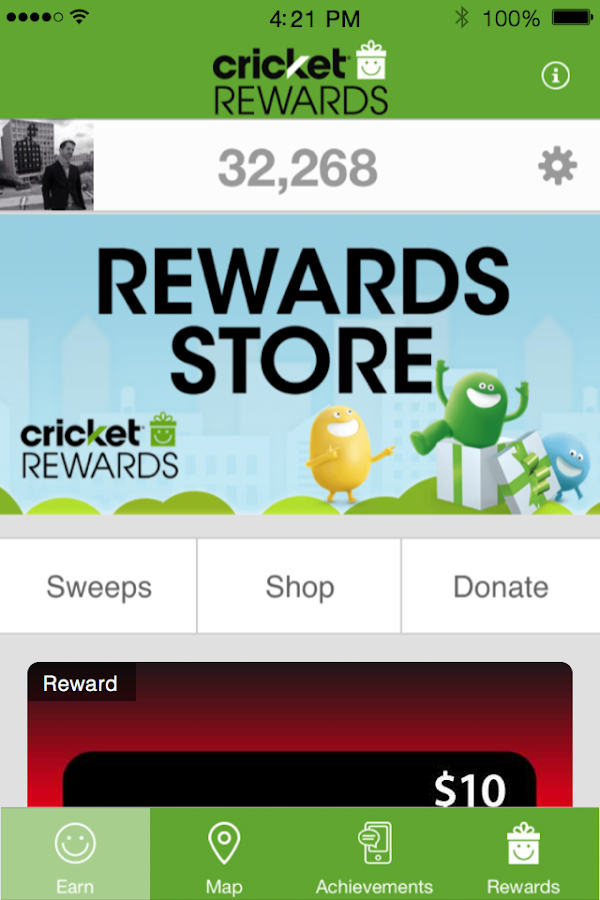Cricket Rewards Screenshot 4