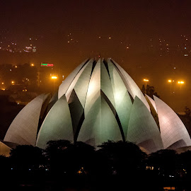 Lotus Temple,Delhi,India by Sanjeev Goyal - Buildings & Architecture Other Exteriors ( get, set, run, and, go )
