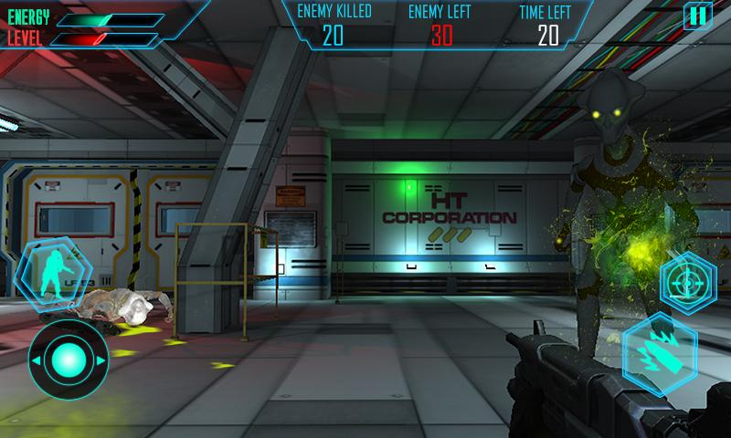 Alien Space Shooter 3D Screenshot 3