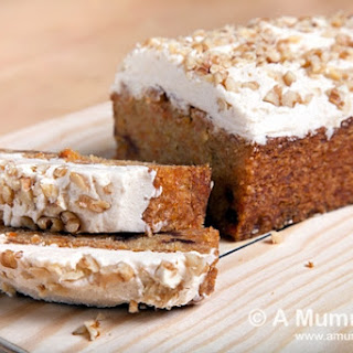 Carrot And Date Loaf With Cinnamon Walnut Frosting (gluten-free, Vegan Recipe)