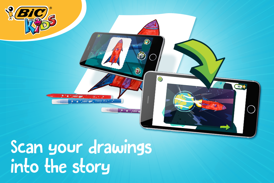BIC Kids DrawyBook, drawings Screenshot 2