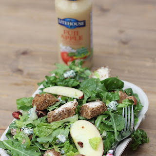 Pecan-Crusted Chicken Salad