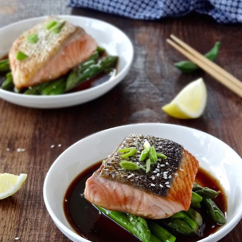 15 Minute Salmon With Soy Lemon Glaze
