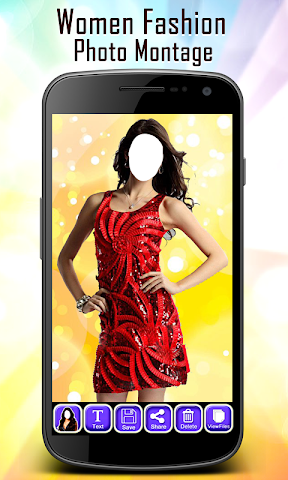 android Women Fashion Photo Montage Screenshot 1