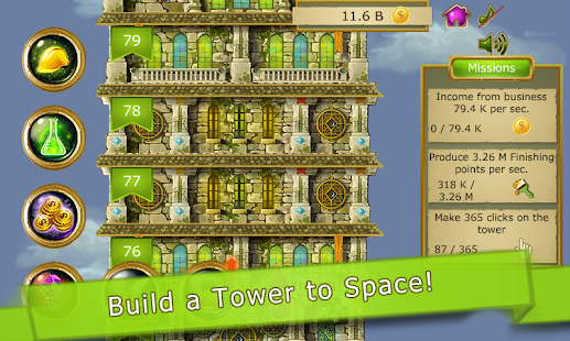 Game Tower to Space Clicker Idle APK for Windows Phone
