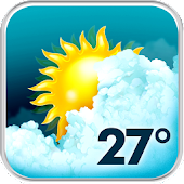 Download Animated Weather Widget, Clock APK on PC
