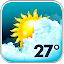 Animated Weather Widget, Clock APK for Blackberry