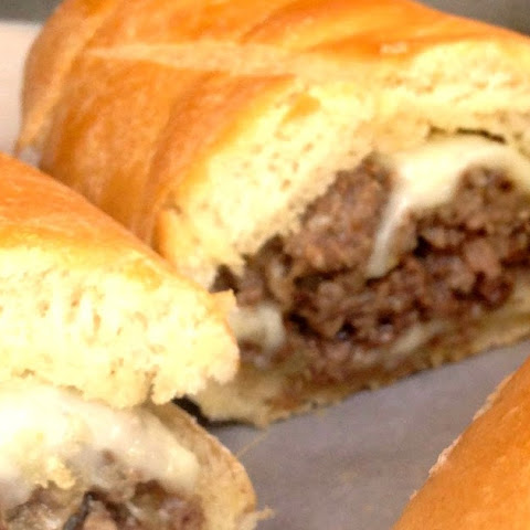 Philly Cheese Steak Style Stuffed Sandwiches