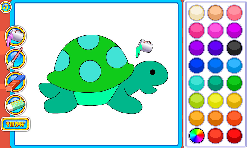 android Puzzles and Coloring Games Screenshot 2