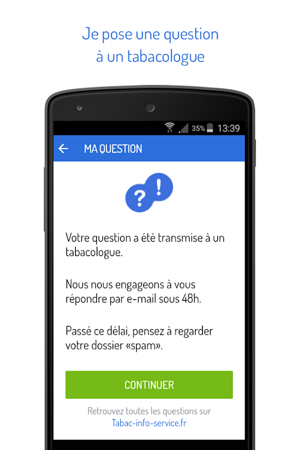 Tabac info service, l'appli Screenshot 7