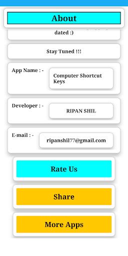 Computer Shortcut Key screenshot 8