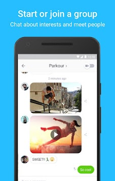 Kik APK screenshot thumbnail 2
