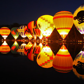 Balloon Glow by Teresa Jack - Transportation Other