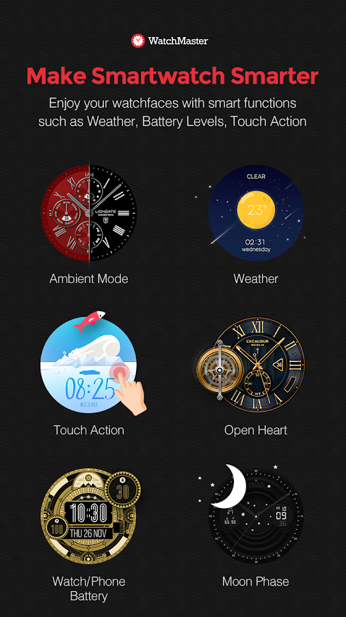 WatchMaster - Watch Face Screenshot 3