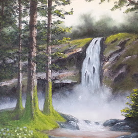Into the Woods by Diane Moretti - Painting All Painting