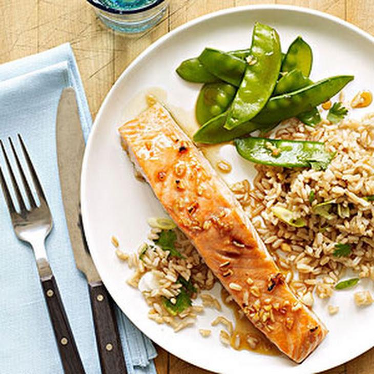 Honey-Soy Glazed Salmon Recept | Yummly
