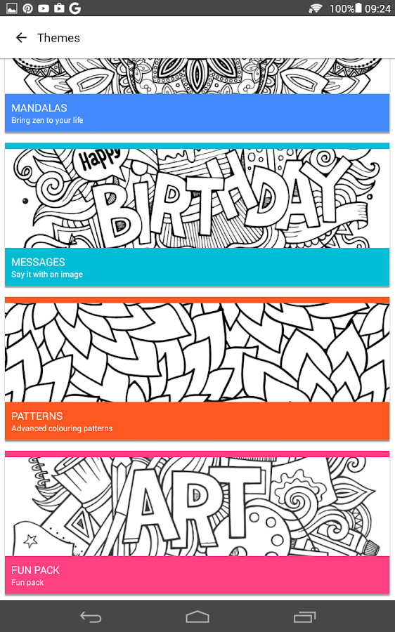 ColourGo - Coloring book Screenshot 10