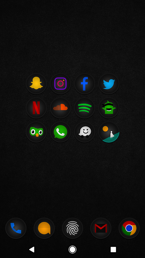 Stealth Icon Pack Screenshot 6