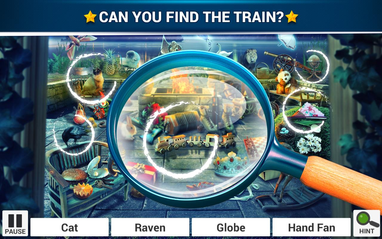 Hidden Object Enchanted Castle Screenshot 0