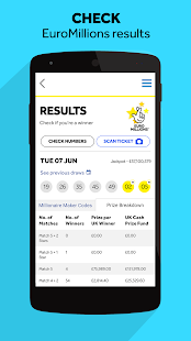 Free Download The National Lottery Results APK for PC