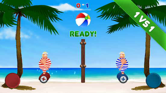 Volley Sumos - Versus game - screenshot