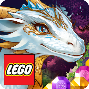 LEGO® Elves Match Game with Dragons and Building Icon