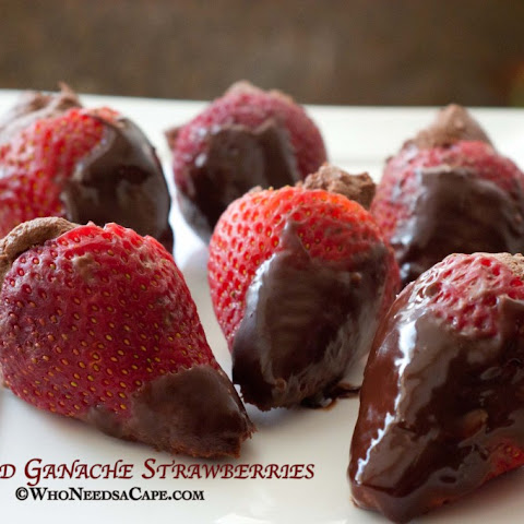 10 best strawberry ganache recipes yummly. Black Bedroom Furniture Sets. Home Design Ideas