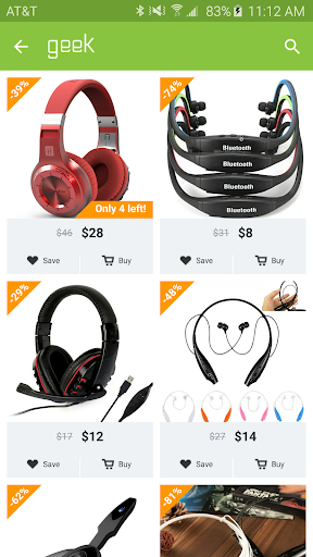 Geek - Smarter Shopping screenshot 2