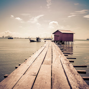 Tan Jetty, Penang Island, by Joon Ming - Landscapes Travel