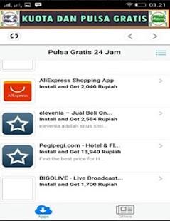 Kuota Dan Pulsa Gratis APK for Bluestacks