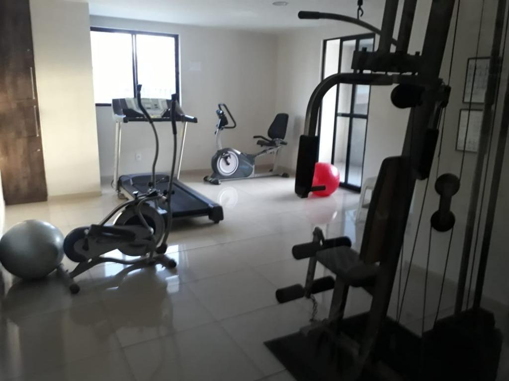 Apartamento com 2 dormitórios para alugar, 60 m² por R$ 1.500/mês - Manaíra - João Pessoa/PB