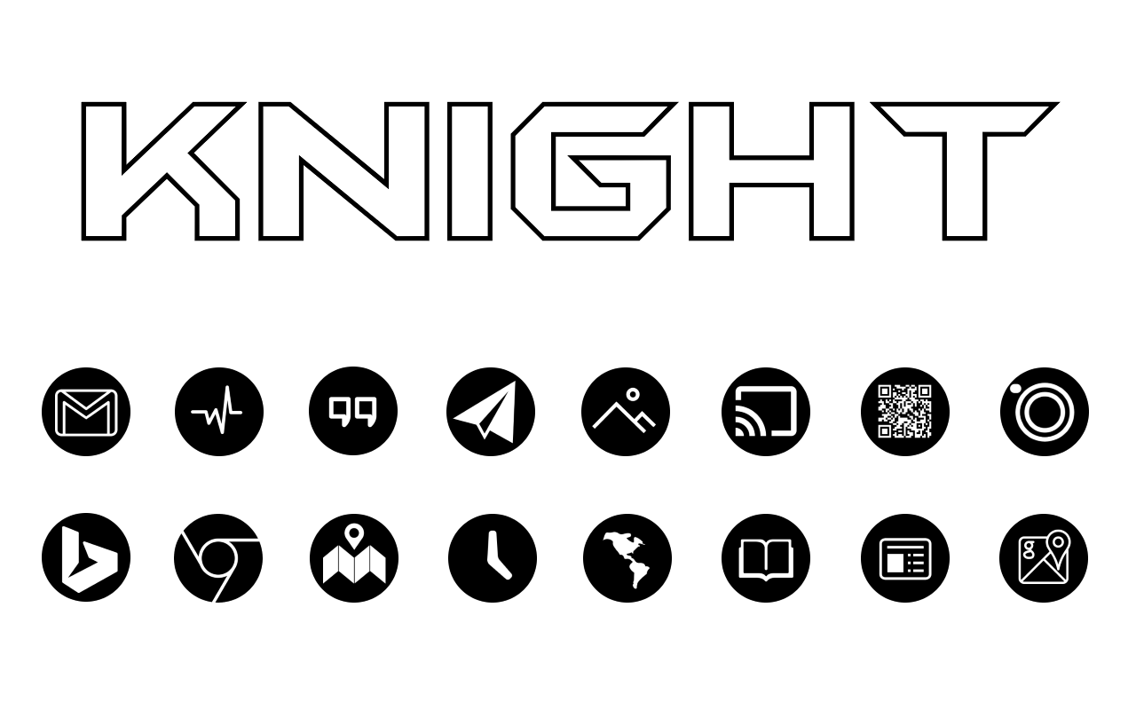 Knight - Icon Pack Screenshot 7