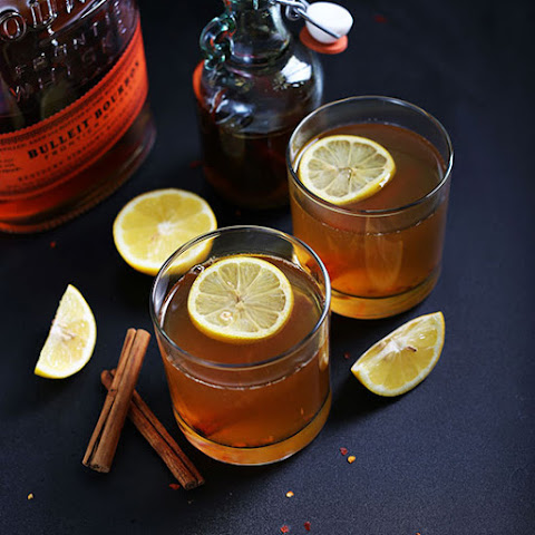 Spiced Cinnamon Bourbon Hot Toddy